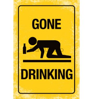 Poster - Gone Drinking