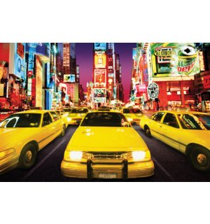 Poster - New York Taxi (Times Square)