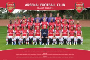 Poster - Arsenal (Team foto 13/14)