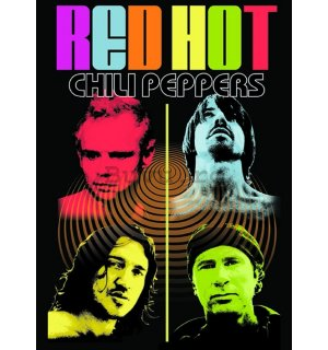 Poster - RHCP (color-me)
