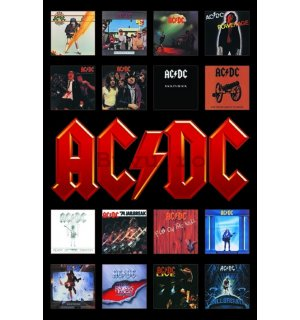 Poster - AC-DC Album Covers