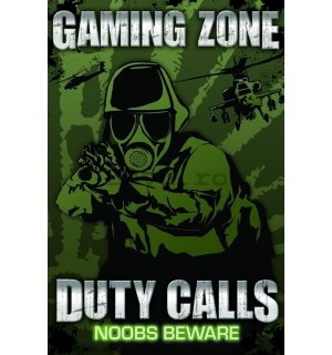 Poster - Gaming Zone Duty Calls