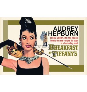 Poster - Breakfast (Gold)