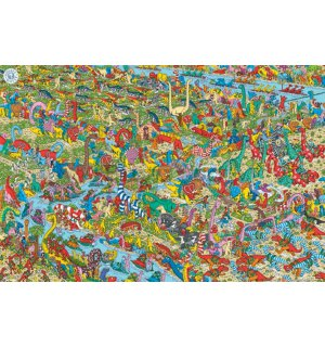 Poster - Where is Wally (Jurassic Games)