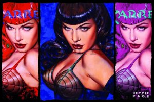 Poster - Bettie Page (Colours)