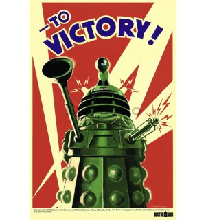 Poster - Doctor Who (To Victory)