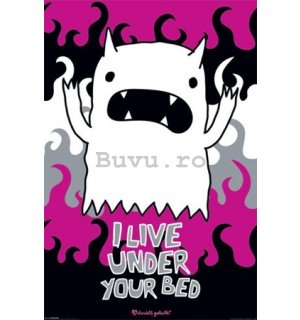 Poster - David & Goliath Monster M (I live under your bed)