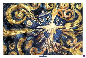 Poster - Doctor Who (Exploding Tardis)