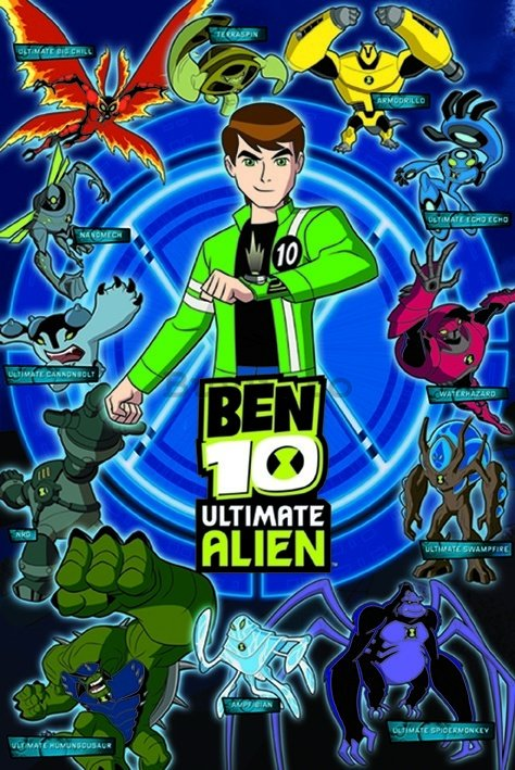 Poster - Ben 10 Ultimate Alien (Aliens)