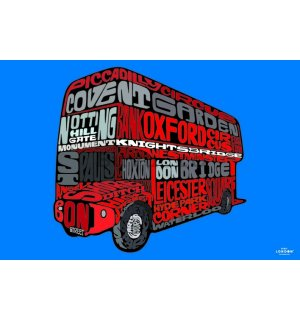 Poster - Visit London (Routemaster)