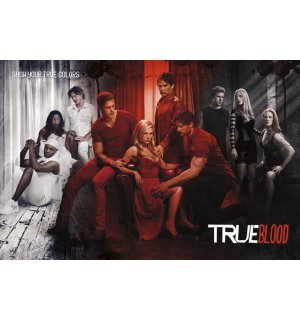 Poster - True Blood (Show Your True Colours)