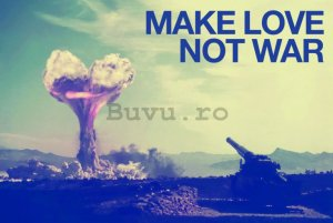 Poster - Make Love Not War