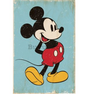 Poster - Mickey Mouse (Retro)