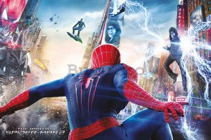 Poster - Amazing Spiderman 2 (Bătălia)