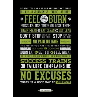 Poster - Gym (Motivation)