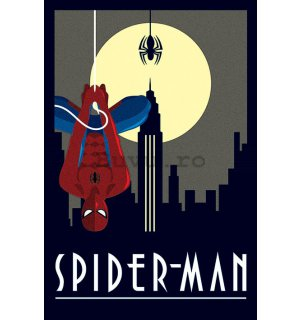 Poster - Spiderman (Art Deco)