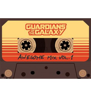 Poster - Guardians of the Galaxy (Awesome Mix Vol.1)