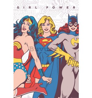 Poster - DC Comics (Girl Power)