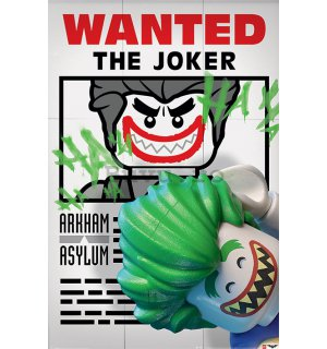 Poster - LEGO Batman (Wanted the Joker)