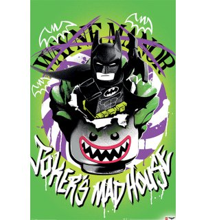 Poster - LEGO Batman (Joker's Madhouse)