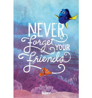 Poster - Finding Dory(Never Forget Your Friends)