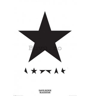 Poster - David Bowie (Blackstar)