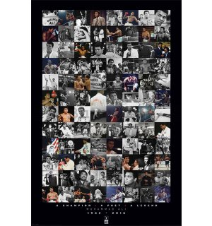 Poster - Muhammad Ali (collage)