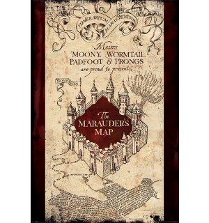 Poster - Harry Potter (The Maurader's Map)