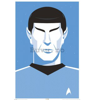 Poster - Star Trek (Blue Spock)