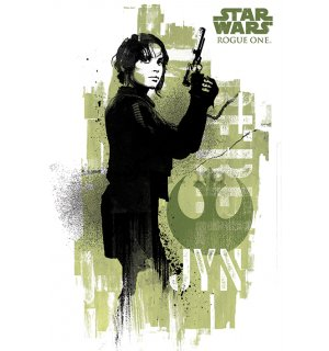 Poster - Star Wars Rogue One (Jyn)