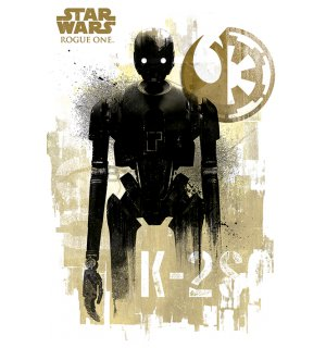 Poster - Star Wars Rogue One (K-2S0)