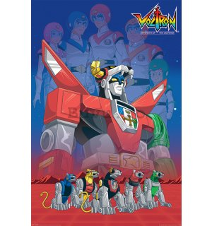 Poster - Voltron
