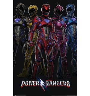 Poster - Power Rangers (1)