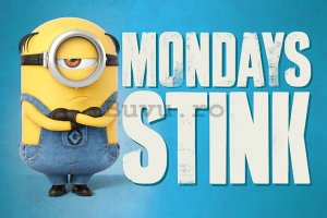 Poster - Despicable Me 3 (Mondays Stink)