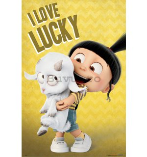 Poster - Despicable Me 3 (I Love Lucky)