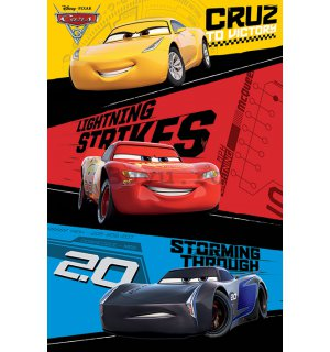 Poster - Cars 3 (Trio)