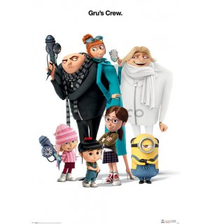 Poster - Despicable Me 3 (Gru's Crew)