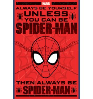 Poster - Spiderman (Always be Yourself)