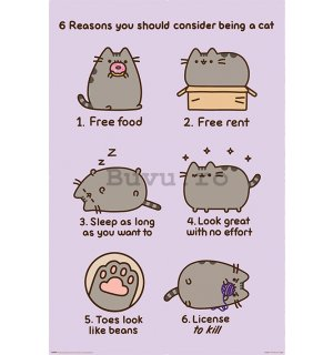 Poster - Pusheen (Reasons to be a Cat)