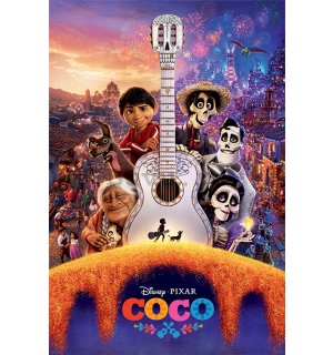 Poster - Coco (Guitar)