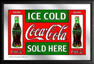 Oglindă - Coca-Cola (Ice Cold Sold Here)