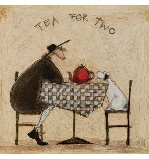 Tablou canvas - Sam Toft, Tea For Two