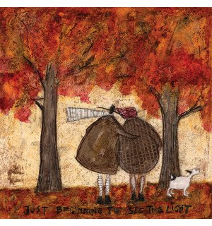 Tablou canvas - Sam Toft, Just Beginning To See The Light