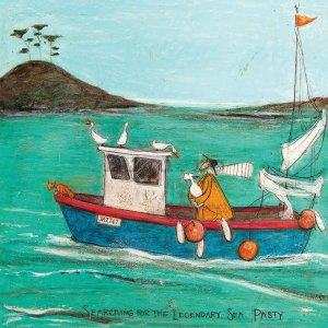 Tablou canvas - Sam Toft, Searching For the Legendary Sea Pasty
