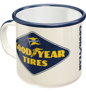 Cană metalică - Good Year Tires