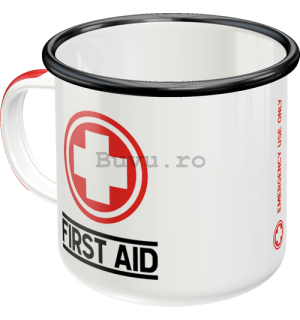 Cană metalică - First Aid