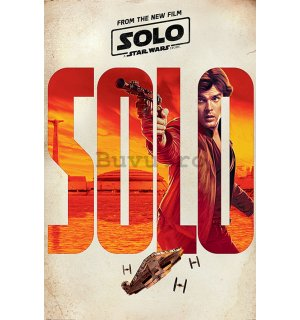Poster - Solo A Star Wars Story (Solo Teaser)