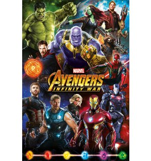 Poster - Avengers Infinity War (Characters)