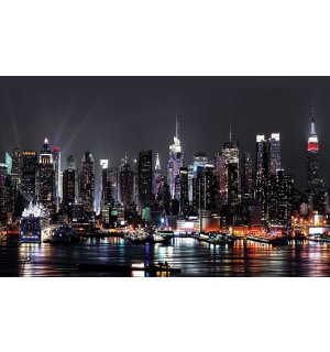 Tablou canvas: New York nocturn (2) - 75x100 cm