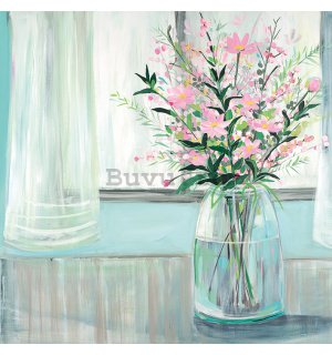 Tablou canvas - Janet Bell, Winter Jar